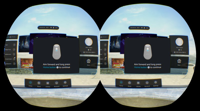 How to suppress the controller pairing popup in your Vive