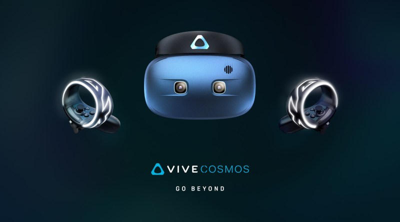 HTC announces Vive Pro Eye and Vive Cosmos at CES 2019 - The