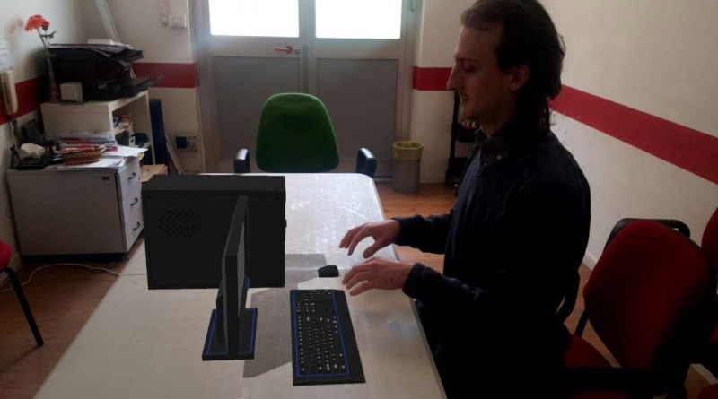 How to show a 3D model in AR inside your website - The Ghost