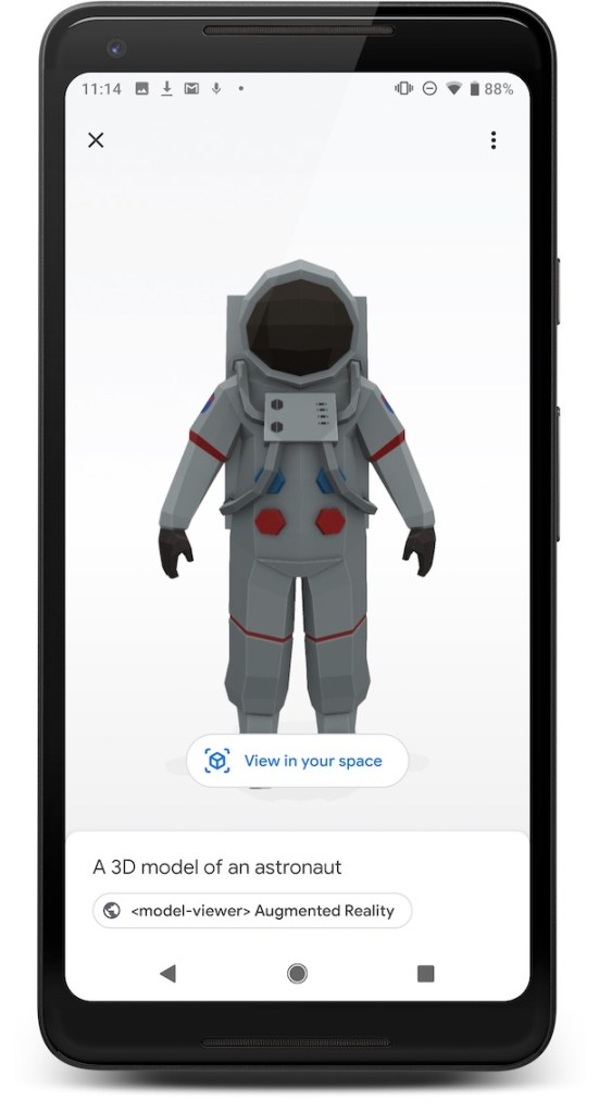 How to show a 3D model in AR inside your website - The Ghost Howls