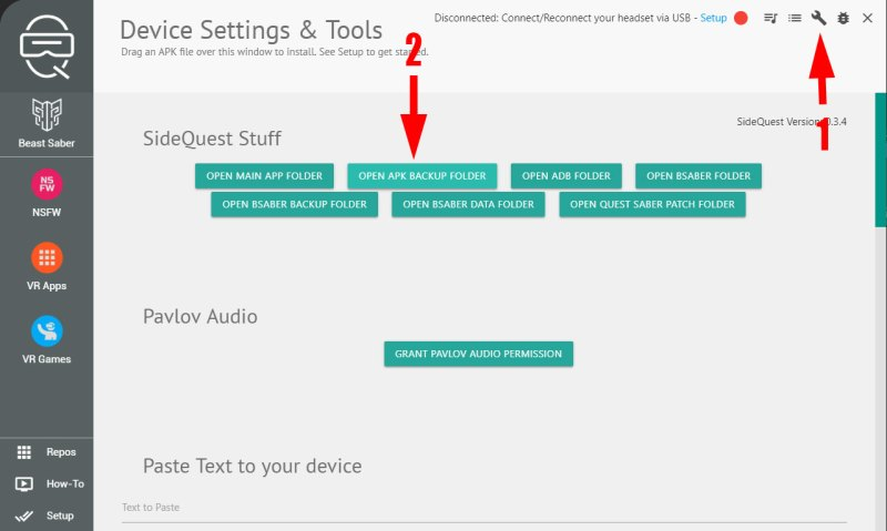 How to install and uninstall unapproved apps on Oculus Quest using