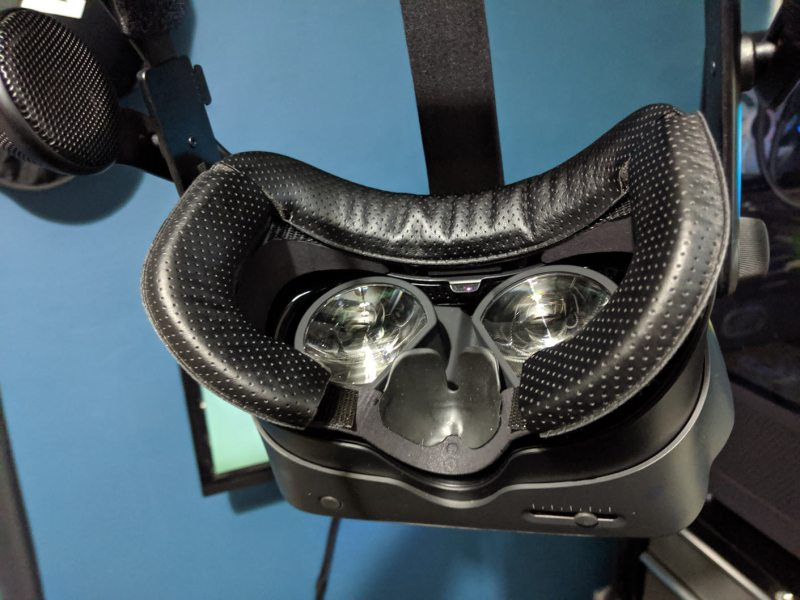 valve index wide face mask