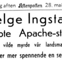 Dengang, da Helge Ingstad fant den tapte Apachestammen