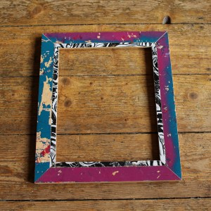 Frame, Upcycled Frame, Upcycled Frame Shop, Skateboard Upcycling Frame, Art Frame, Picture Frame