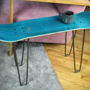 Upcycling Skateboard Bench Shop