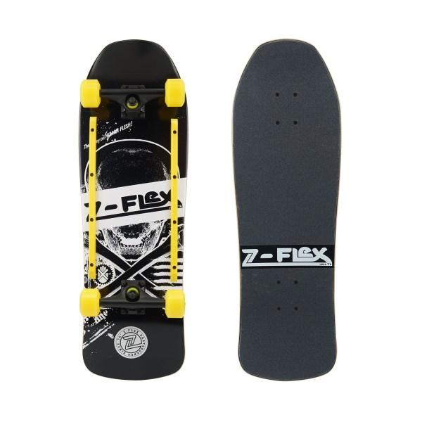 Z-Flex Z-Bones Black Skateboard