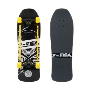 Z-Flex Z-Bones Black Skateboard