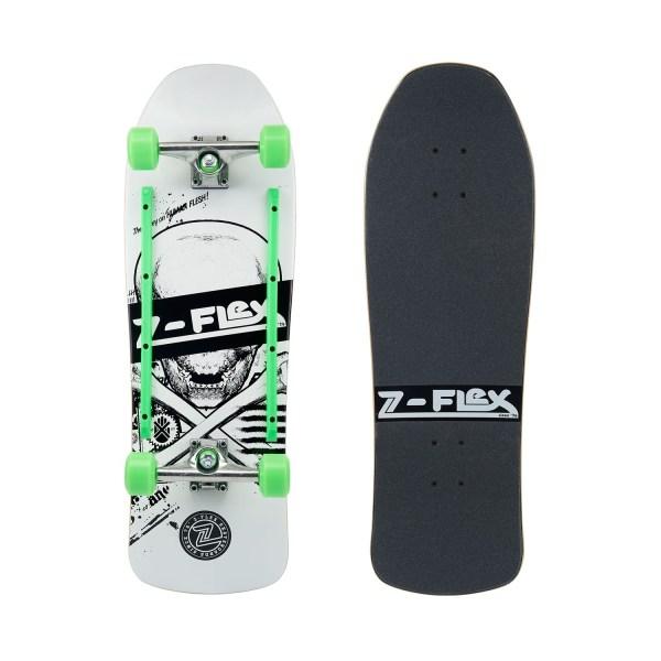 Z-Flex Z-Bones White Skateboard