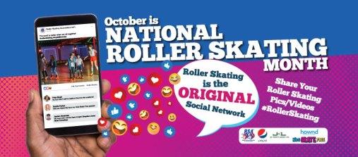 National Rollerskating Month