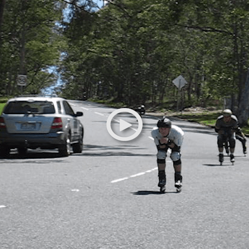 SkateBias 43 – Rollerblading down Mount Cootha at 50 kph
