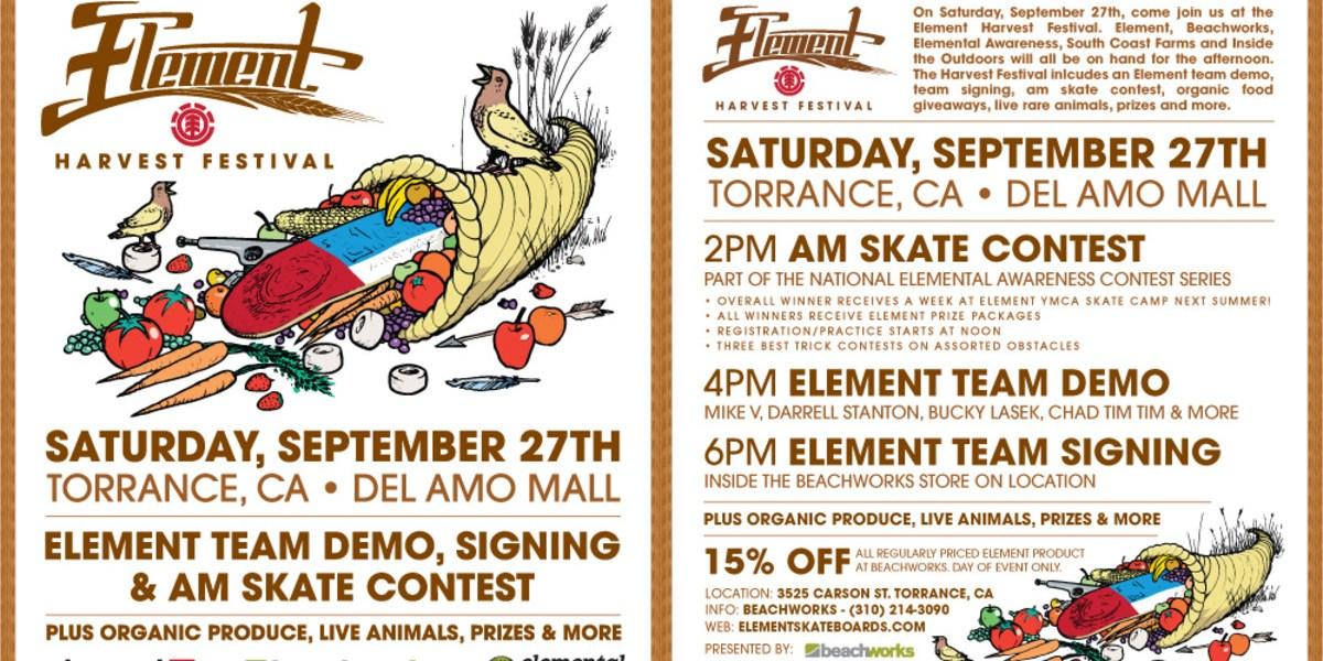Element Harvest Festival | TransWorld SKATEboarding