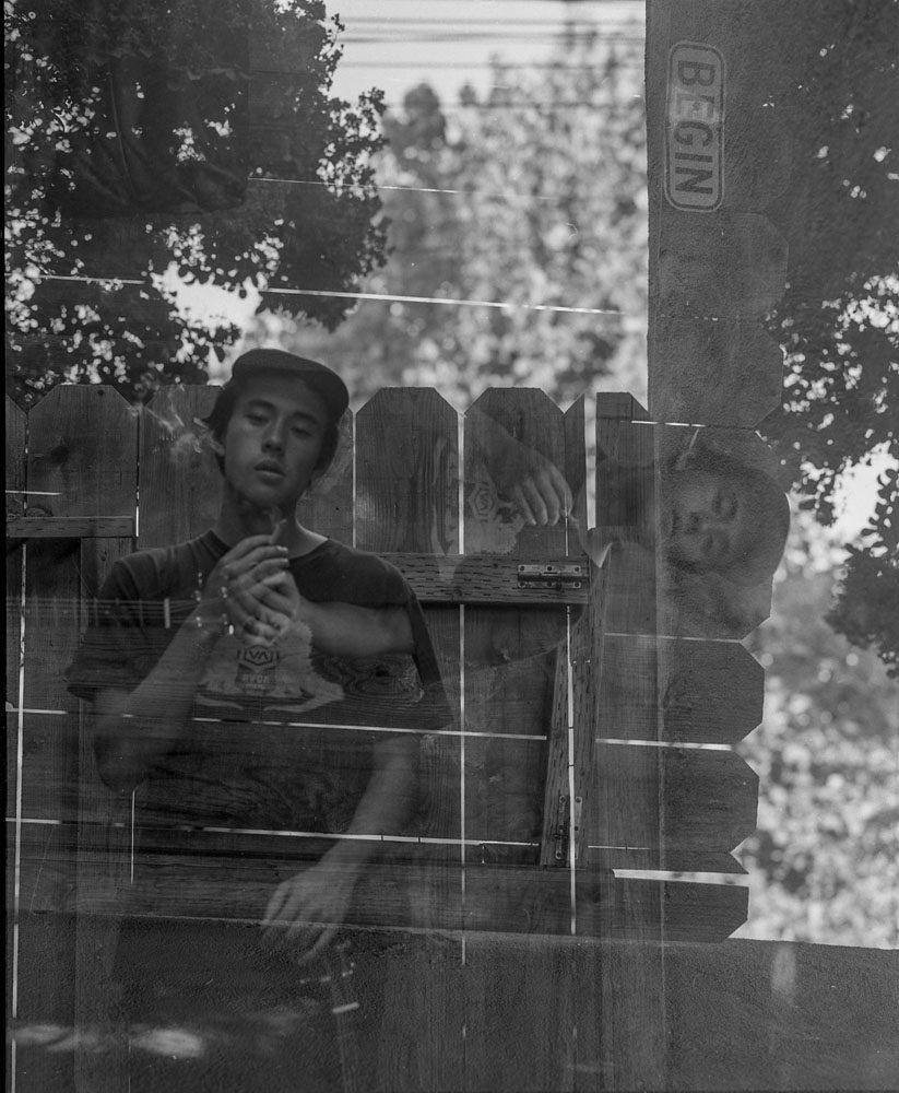 Shig meyers  smoking double exposure