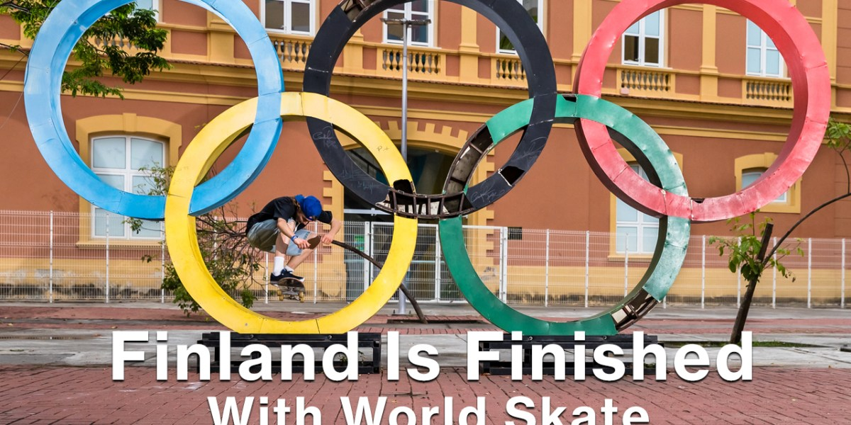 Finland Is Finished With World Skate