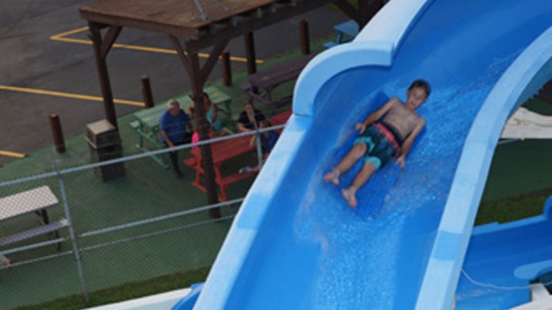 water slide - Attractions