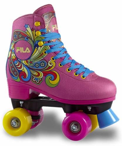 Fila bella pink rolschaatsen