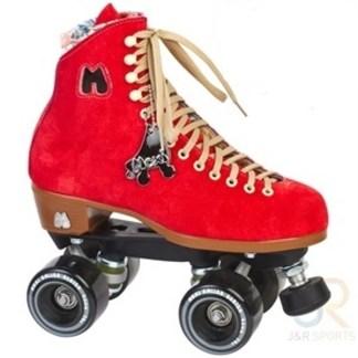 Moxi rollerskates rood