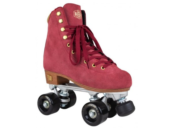 Rookie classic suede rollerskates