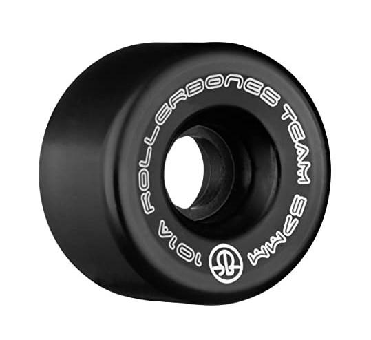 Rollerbones set 8 zwarte rolschaats wielen