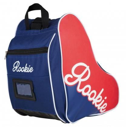 ROOKIE Rolschaats tas in het rood en blauw