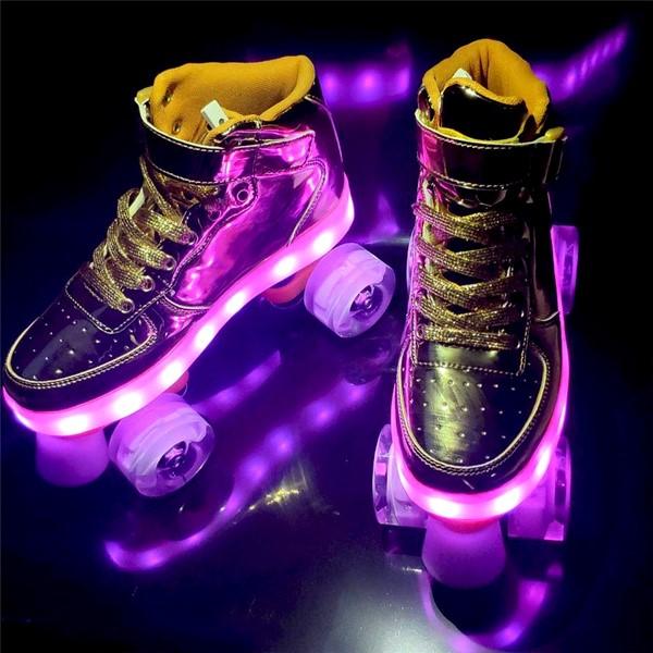 Gouden led skate