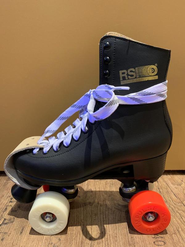Zwarte lederen RSI Skates