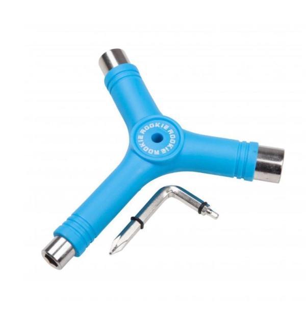 Multitool voor rolschaatsen blauw