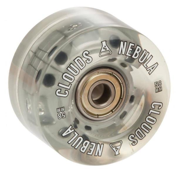 NEBULA CLOUDS lichtgevende rolschaats wielen