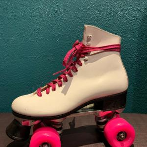 Riedell skates , witte rolschaatsen