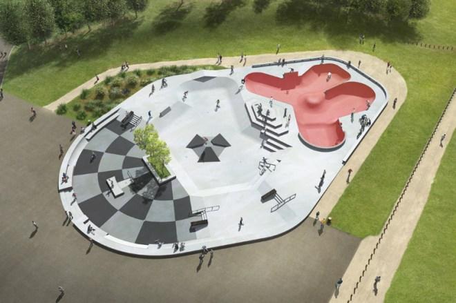 Skatepark de Reims