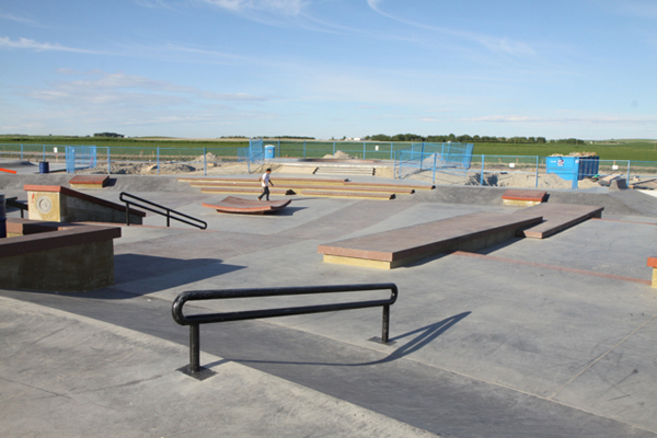 Chinook Winds Skatepark – Airdrie AB