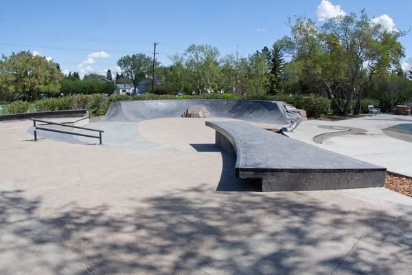 McKernan Skate spot, Edmonton AB