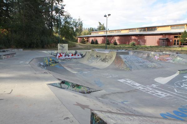 Armstrong Skatepark * Armstrong BC