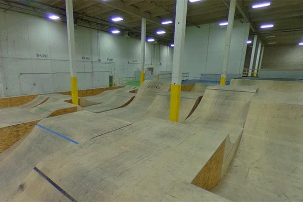 B-Line Indoor Bike Park, Calgary Alberta