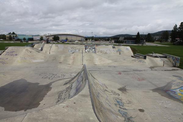 Cranbrook Skatepark * Cranbrook BC