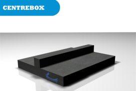Centre box skateramp module
