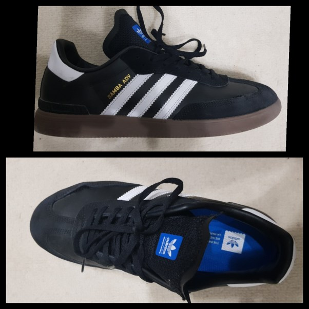 adidas samba adv skate shoe review