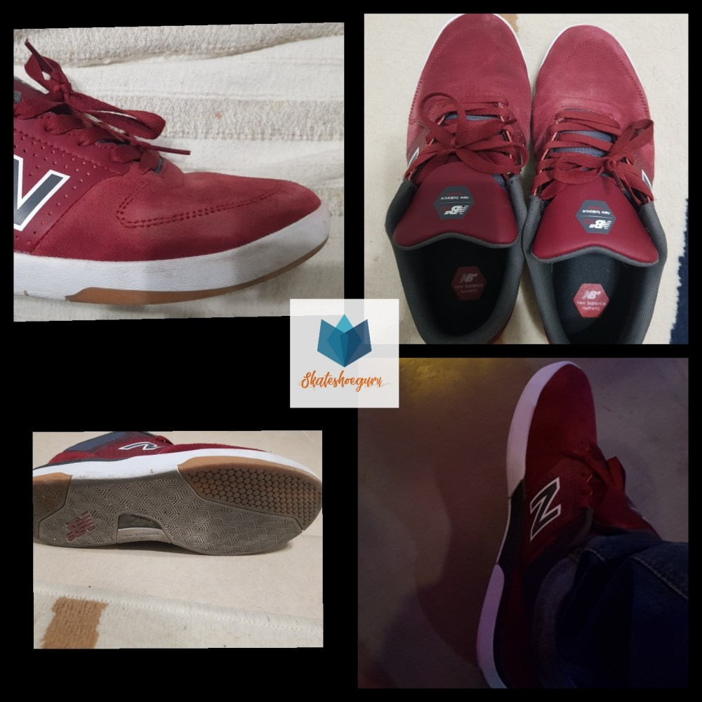 new balance numeric 533 skate shoe review