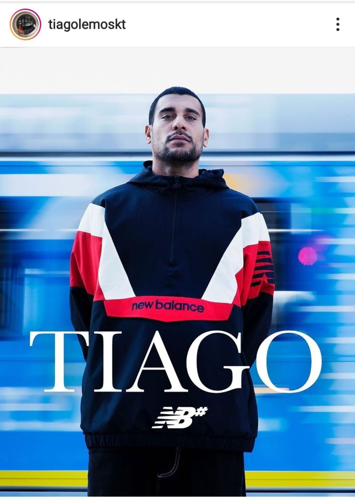 Tiago lemos on new balance numeric