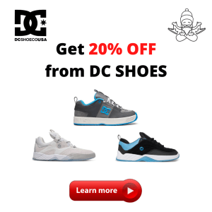 DC SHOES OFFER