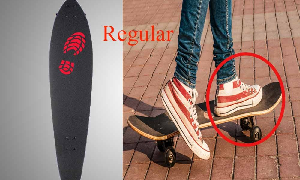 Find out if You are Regular or Goofy Stance? Learn to Stand on a Skateboard