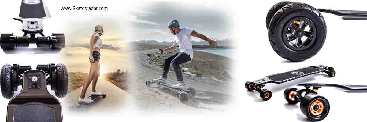 evolve all terrain and street carbon fiber skateboard
