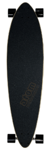 Atom Pin-Tail Longboard features