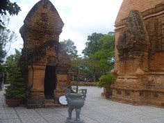 the old Cham temple