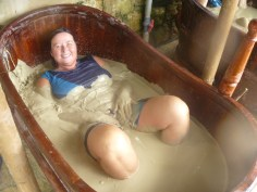 in the Thapa mud bath