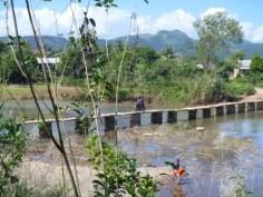 några dagar senare - bron på plats