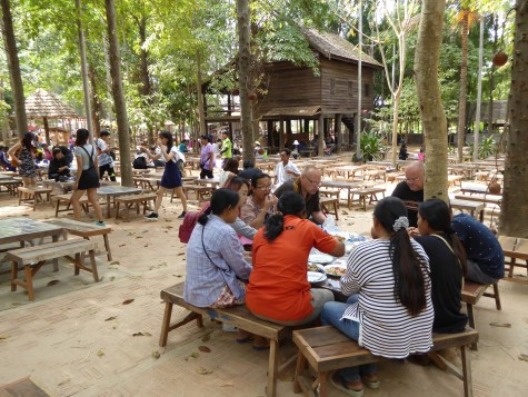 Lunch at Isaan village, Jim Thompson farm