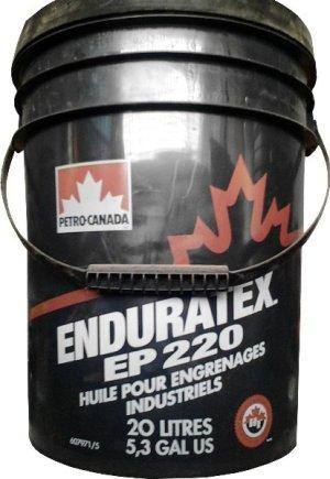 Масло редукторное PETRO-CANADA ENDURATEX EP 220 AGMA 9005-D95 20л