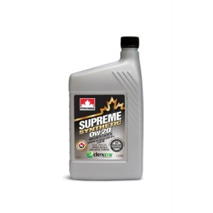 Масло моторное PETRO-CANADA SUPREME SYNTHETIC 0W-20 GF-5 SN синтетика 1л