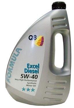 Масло дизельное Q8 F Excel Diesel 5W-40 CF A3/B3 синтетика 4л