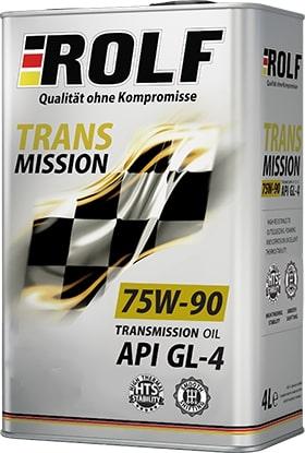 Масло трансмиссионное ROLF Transmission 75W-90GL-4 1л